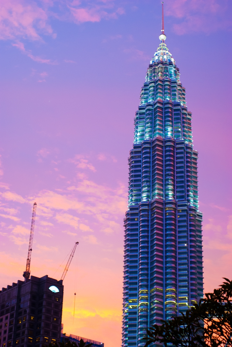 A tower of KLCC